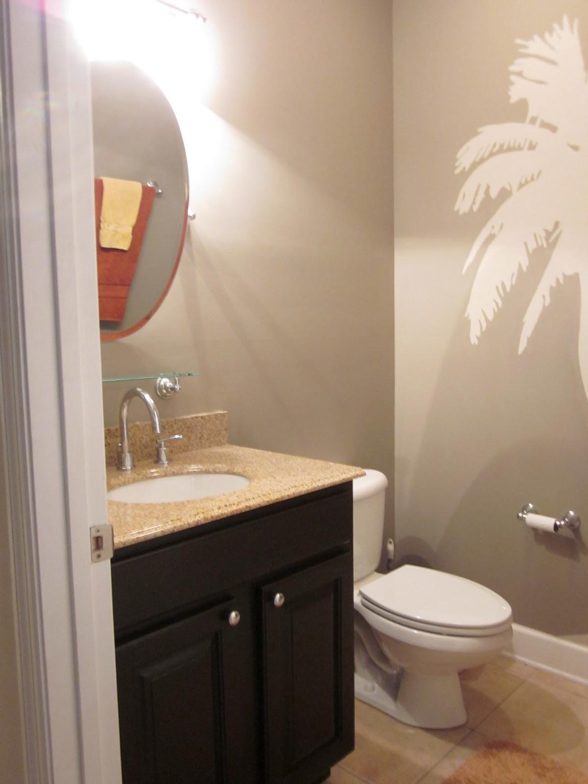 Palm Tree Bathroom Decor Ideas Bathroomist: Lipstick And A Brad Nailer ... Are The Only Essentials