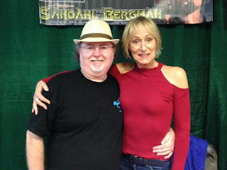 Me and Sandahl Bergman at Pensacon