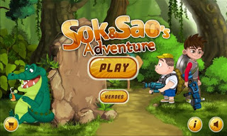 Free Download Sok and Sao's Adventure MOD APK (Unlimited Gold Coins) Terbaru 2018