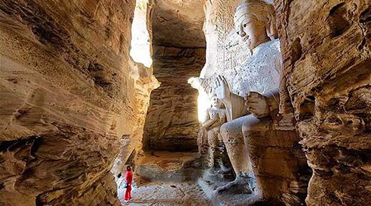 Una ciudad subterránea de gigantes descubierto en el Gran Cañón