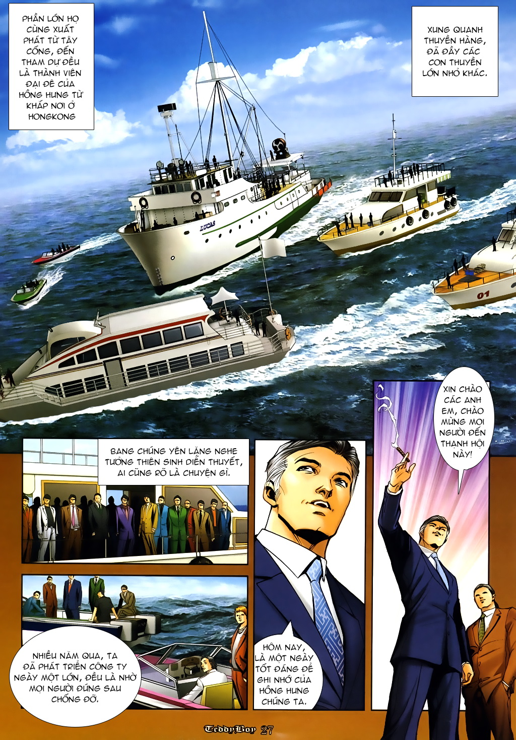Người Trong Giang Hồ Chap 1000 - Truyen.Chap.VN