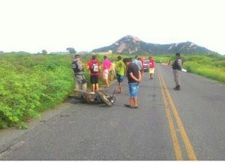 Grave acidente deixa jovem morto na manhã deste domingo no interior da Paraíba