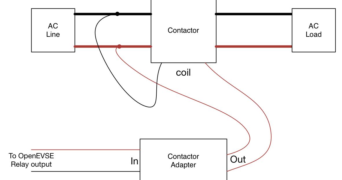 240 volt contactor wiring diagram schematic