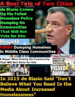 Image result for De Blasio is a plant