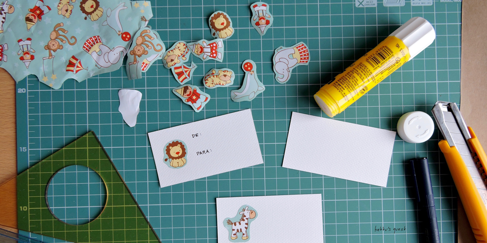 How to reuse that wrapping paper for gift tags - betitusquest