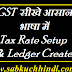 Tally में GST की Entries सीखे Tax Rate Setup and Ledger Create करना