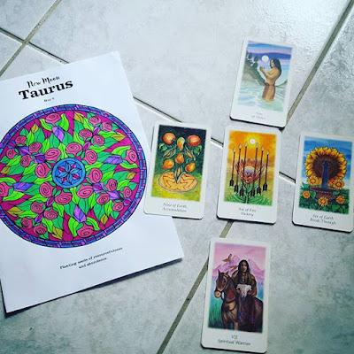 Pensée positive Positive Thinking Astrologie Tarot Spiritualité Mandala Astrology of Joy Vanessa Couto Coloring Book Art Thérapie