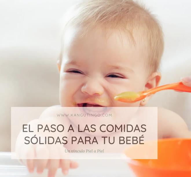 El Paso a las Comidas Sólidas Para tu Bebé