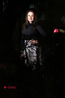 Actress Sonia Agarwal Stills in Black Top at Yevanavan Tamil Movie Audio Launch Event  0019.jpg