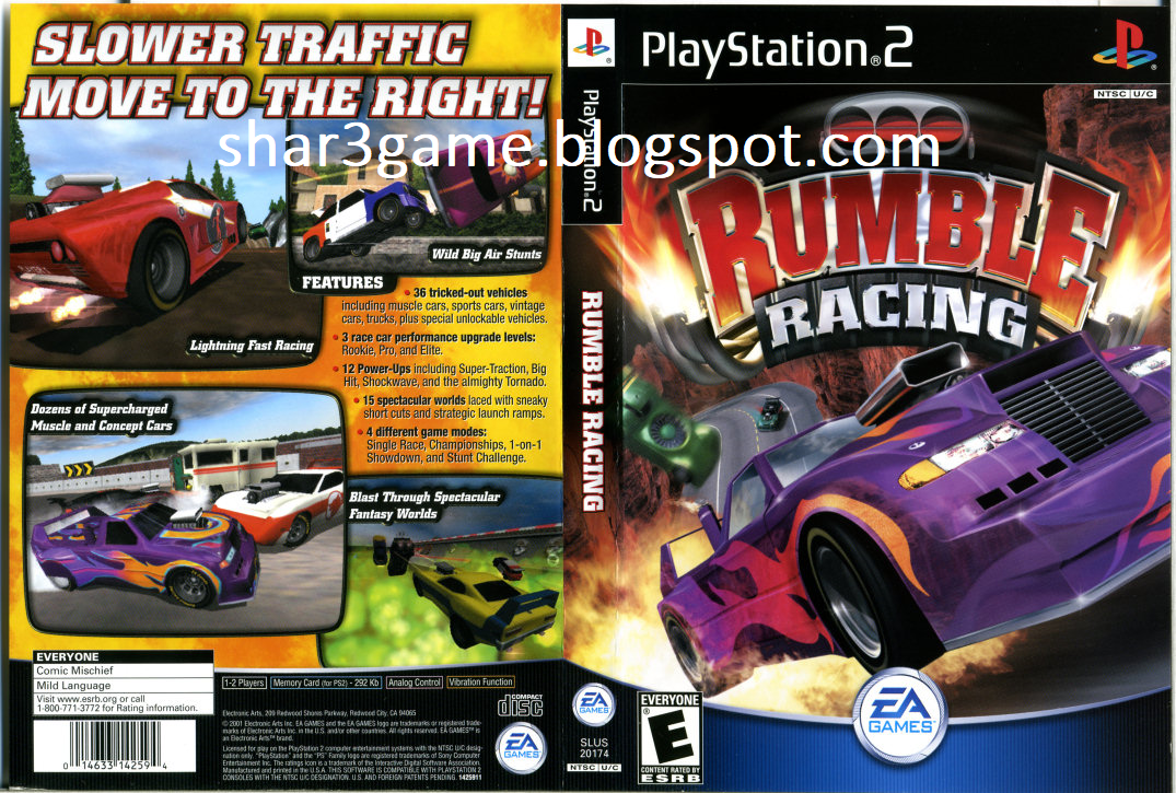 SHAR3GAME - Free Download Game + DLC PKG PS3: Rumble Racing