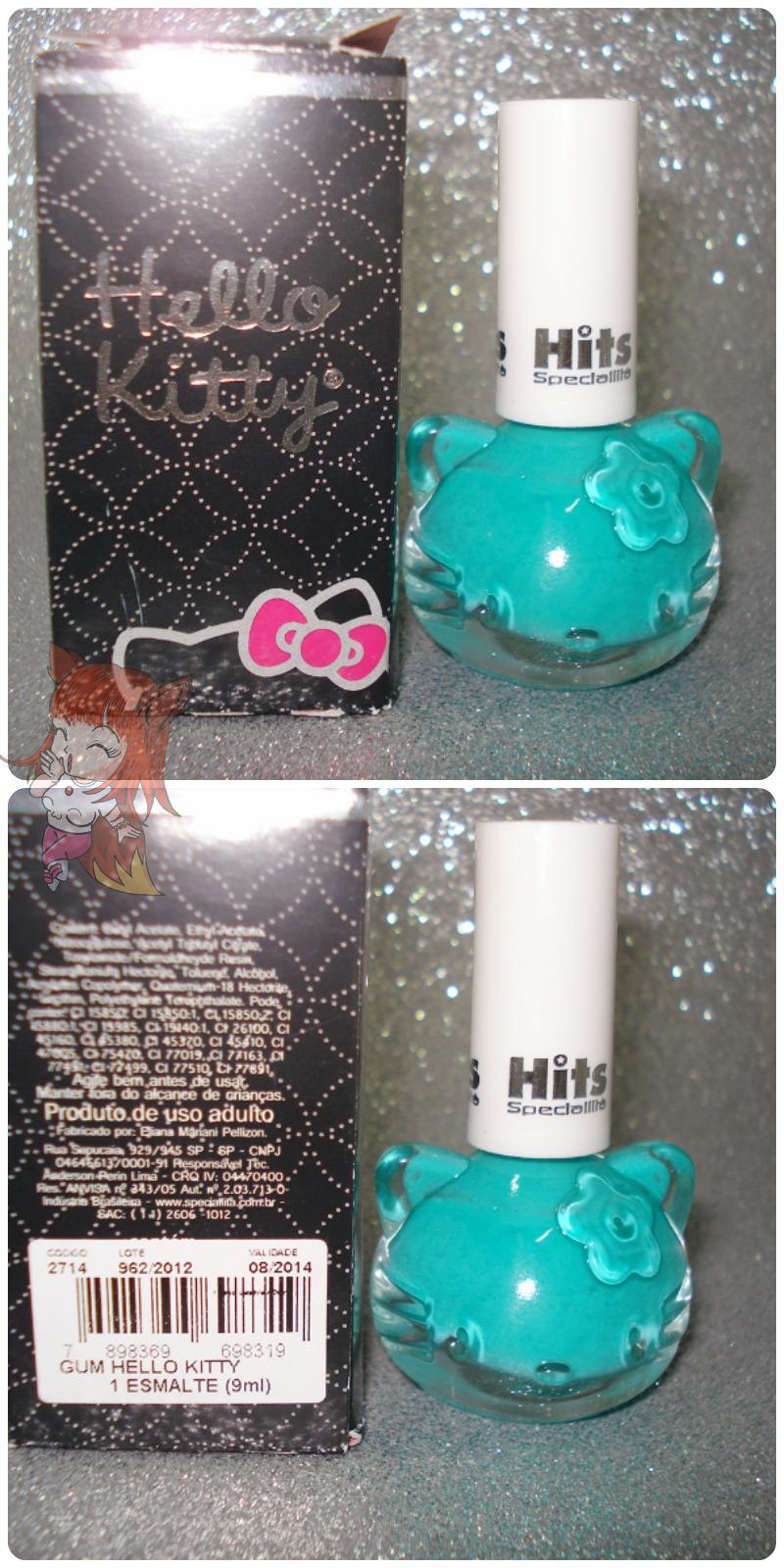 Esmalte Hits :: Gum - Desafio #12Meses12Esmaltes - Hello Kitty