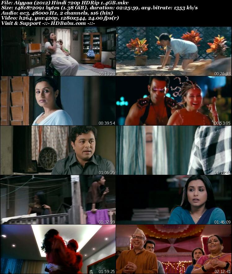 Aiyyaa Hindi Full Movie Download, Aiyyaa 2012 Full Movie Download, Aiyyaa Movie Download, Aiyyaa Movie 720p HDRip 1GB