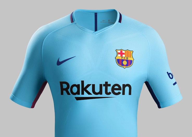pretty nice 78deb 3dfd3 Barcelona 17-18 Away Kit Released - Footy Headlines