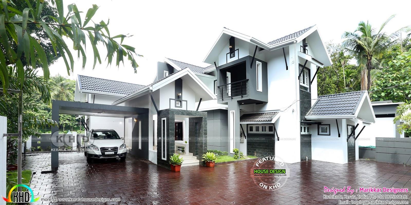 Furnished Interior And Exterior Of 4 Bedroom House Kerala Home Design Bloglovin