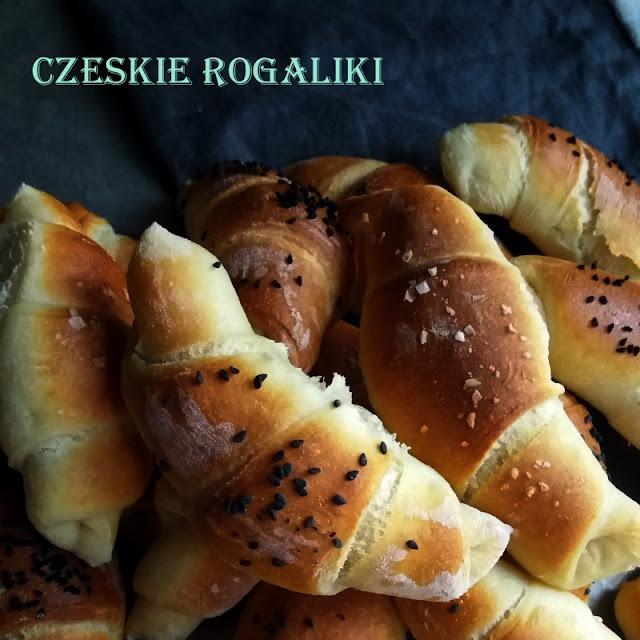 Czeskie rogaliki  - czerwcowa piekarnia