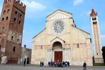 Iglesia románica de S. Zeno en Verona