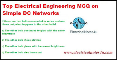MCQ on Simple DC Networks