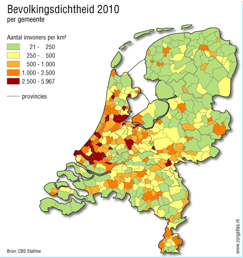 kaart natura 2000 gebieden noord holland