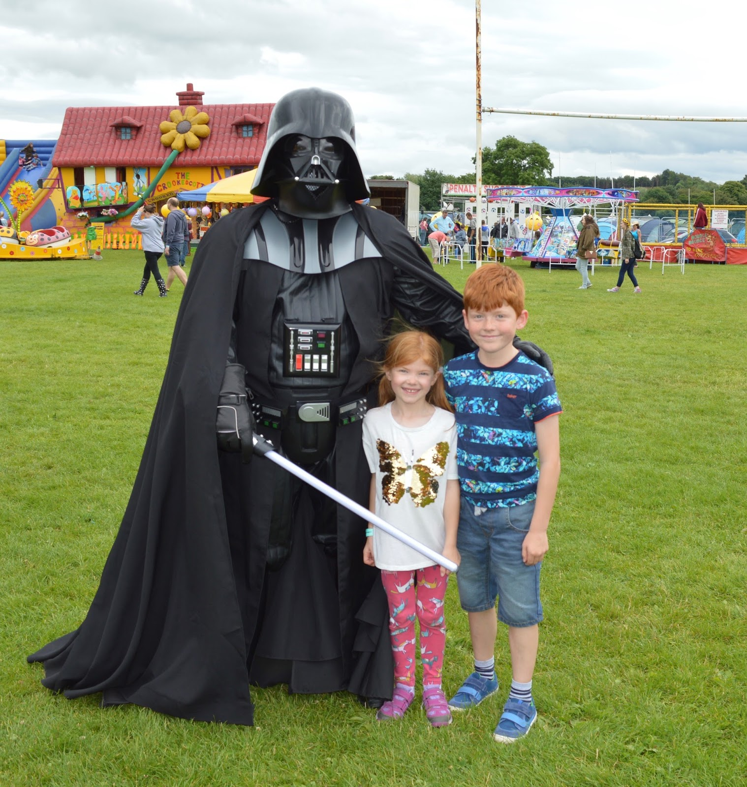 Corbridge Festival 2016 - A Review - Be Your Guest Darth Vader