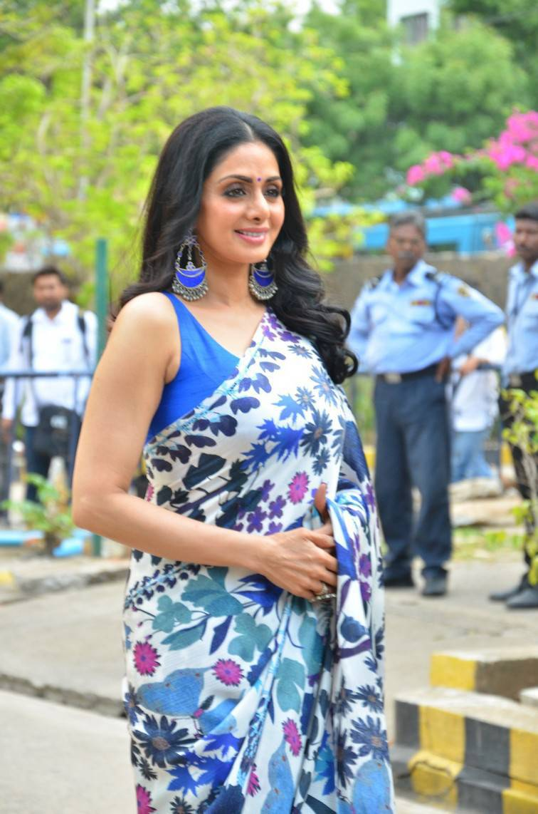 Sridevi MOM Movie Press Meet Stills