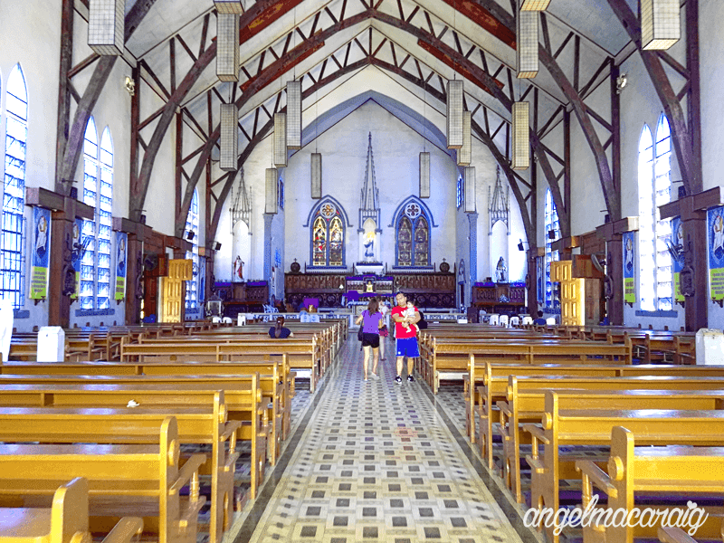 Inside Immaculate Conception Cathedral