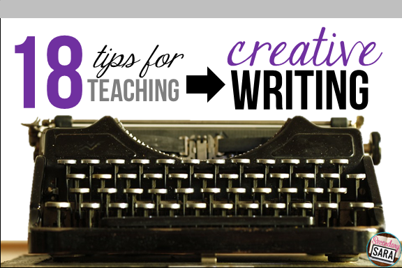 Creative writing is a ton of fun to teach, but it's not always fun for students, which can cause tension between them and their teachers. This blog post explores a few ways why teaching creative writing is sometimes challenging and then shares 18 (!!!) tips for teaching it in a constructive, productive way. Click through to read the whole post!