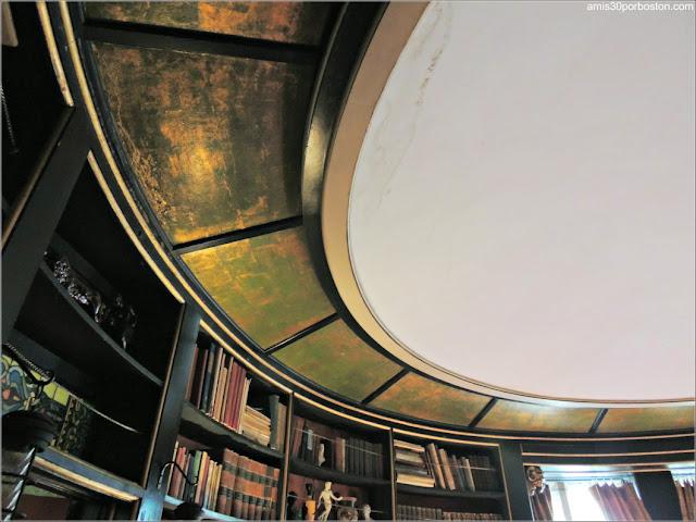 Techo de la Biblioteca del Castillo Hammond, Gloucester