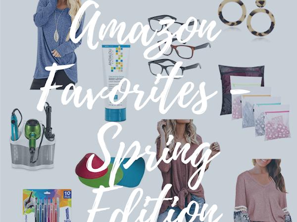Amazon Fav's Spring Edition