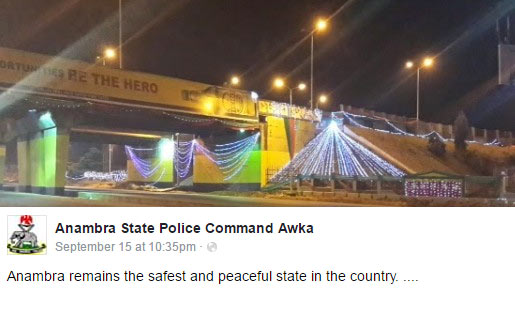 Police: Anambra is the safest state in Nigeria (see how people reacted)
