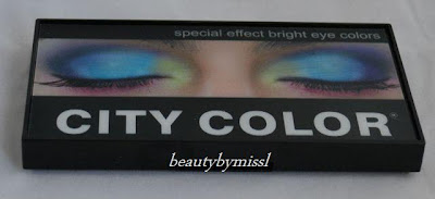City Color Special Effect Bright Eye Colors palette review