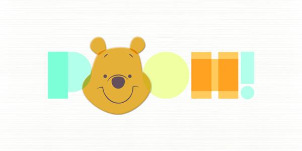 迪士尼磁磚,跳跳虎熊,維尼磁磚,Disney tile,卡通磁磚,