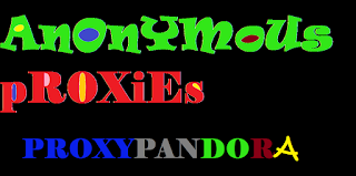 Anonymous Proxies