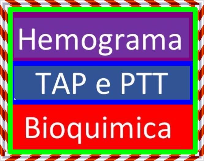 Exame hemograma jejum