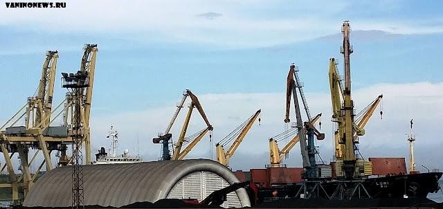Порт Ванино, уголь, амбар, инновации, позор, vaninonews.ru новости