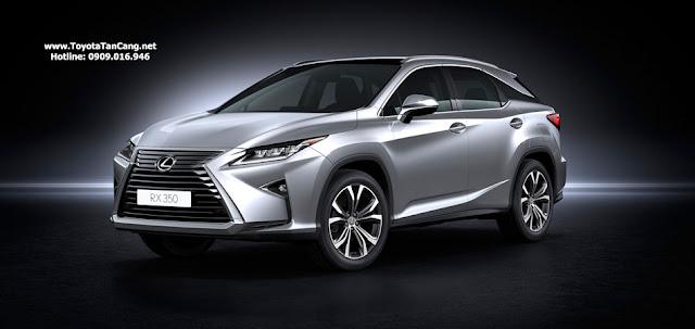 Giá xe Lexus RX 350 2018 nhập khẩu tại Việt Nam là 3,447 tỷ đồng