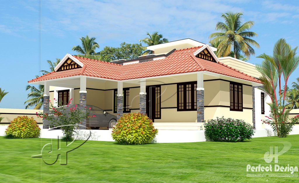 Simple, yet with a number of stylish options, one-story house plans offer everything you require in a house. One story home plans and layout are convenient and economical, as a more simple structural design decreases building material costs. Enjoy the benefits of a one-story home with a floor plan that is modern and spacious.      HOUSE DESIGN 1     Specifications: Ground Floor is designed in 84 Square meters(903 Sq.Ft) Car Porch Sit out Living room Dining Hall 2 Bedrooms Attached Toilets Kitchen Stair  HOUSE DESIGN 2     Specifications: Ground floor is designed in 102 square meters (1097 Sq.Ft) Porch Sit out Living Dining hall Stair Bedrooms: 2 Attached bath: 1 Common bath: 1 Kitchen Work area  HOUSE DESIGN 3     Specifications: Ground Floor is designed in 80 Square meters (861 Sq.Ft) Porch Sit out Living room Dining Hall Bedrooms: 2 Attached Bath: 1 Common Bath: 1 Kitchen  HOUSE DESIGN 4     Specifications:- Ground Floor is designed in 101 Square meters (1086 Sq.Ft) Sit out Prayer Living Dining Hall Bedrooms: 2 Attached Bath: 1 Common Bath: 1 Kitchen  HOUSE DESIGN 5     Specifications: Ground floor is designed in 91 square meters (979 Sq.Ft) Porch Sit out Living room Dining hall Bedrooms: 2 Attached bath: 1 Common bath: 1 Kitchen Work area  HOUSE DESIGN 6     Specifications:- Ground Floor is designed in 97 Square meter(1043 Sq.Ft) Car Porch Sit out Living room Dining Hall Bedrooms: 2 Toilet attached: 2 Kitchen Work area Stair  HOUSE DESIGN 7     Specifications: Ground Floor is designed in 93 Square meters(1001 Sq.Ft) Car Porch Sit out Living room Dining Hall Bedrooms: 2 Toilet attached: 2 Kitchen Work area Stair  HOUSE DESIGN 8     Specifications: Ground Floor is designed in 80 Square meters (861 Sq.Ft) Porch Sit out Living room Dining Hall Bedrooms: 2 Attached Bath: 1 Common Bath: 1 Kitchen  HOUSE DESIGN 9     Specifications:- Ground Floor is designed in 93 Square meters(1000 Sq.Ft) Porch Sit out Living room Dining Hall Bedrooms : 3 Attached bath Common bath Kitchen Stair     HOUSE DESIGN 10     Specifications: Ground Floor is designed in 110 Square meters(1183 Sq.Ft) Car Porch Sit out Living room Dining Hall Stair Bedrooms : 3 Toilet attached: 1 Common toilet 1 Kitchen  HOUSE DESIGN 11      Specifications:- Ground Floor is designed in 111 Square meters(1194 Sq.Ft) ⦁ Car Porch ⦁ Sit out ⦁ Living room ⦁ Dining Hall ⦁ 3 Bedrooms ⦁ 2 Attached Toilets ⦁ Common toilet ⦁ Kitchen ⦁ Work  Area Plot area: 7 Cent  HOUSE DESIGN 12      Specifications: Ground Floor is designed in 70 Square meters(753 Sq.Ft) Sit out Hall Bedrooms:2 Attached bath Common toilet Kitchen Staircase  SOURCE: keralahomedesignz.com