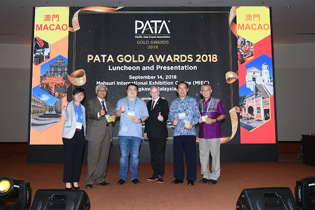 Pasific Asia Travel Association (PATA) Gold Awards 2018