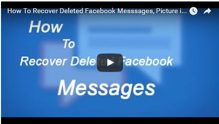 How to Check Deleted Messages on Facebook