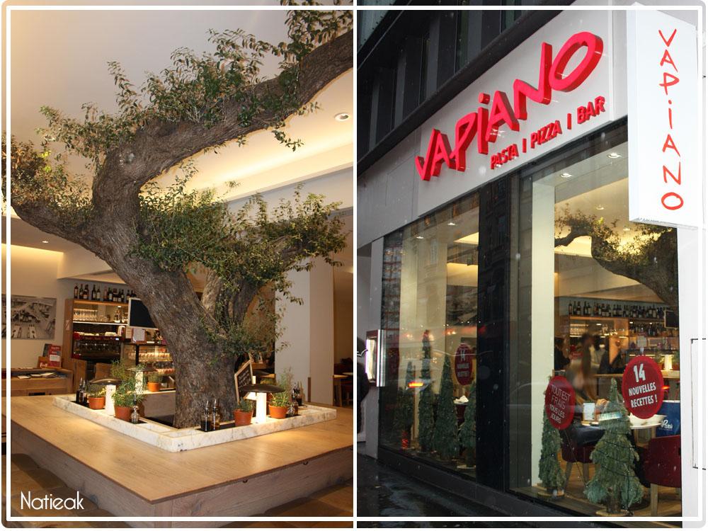 Restaurant italien sur Paris