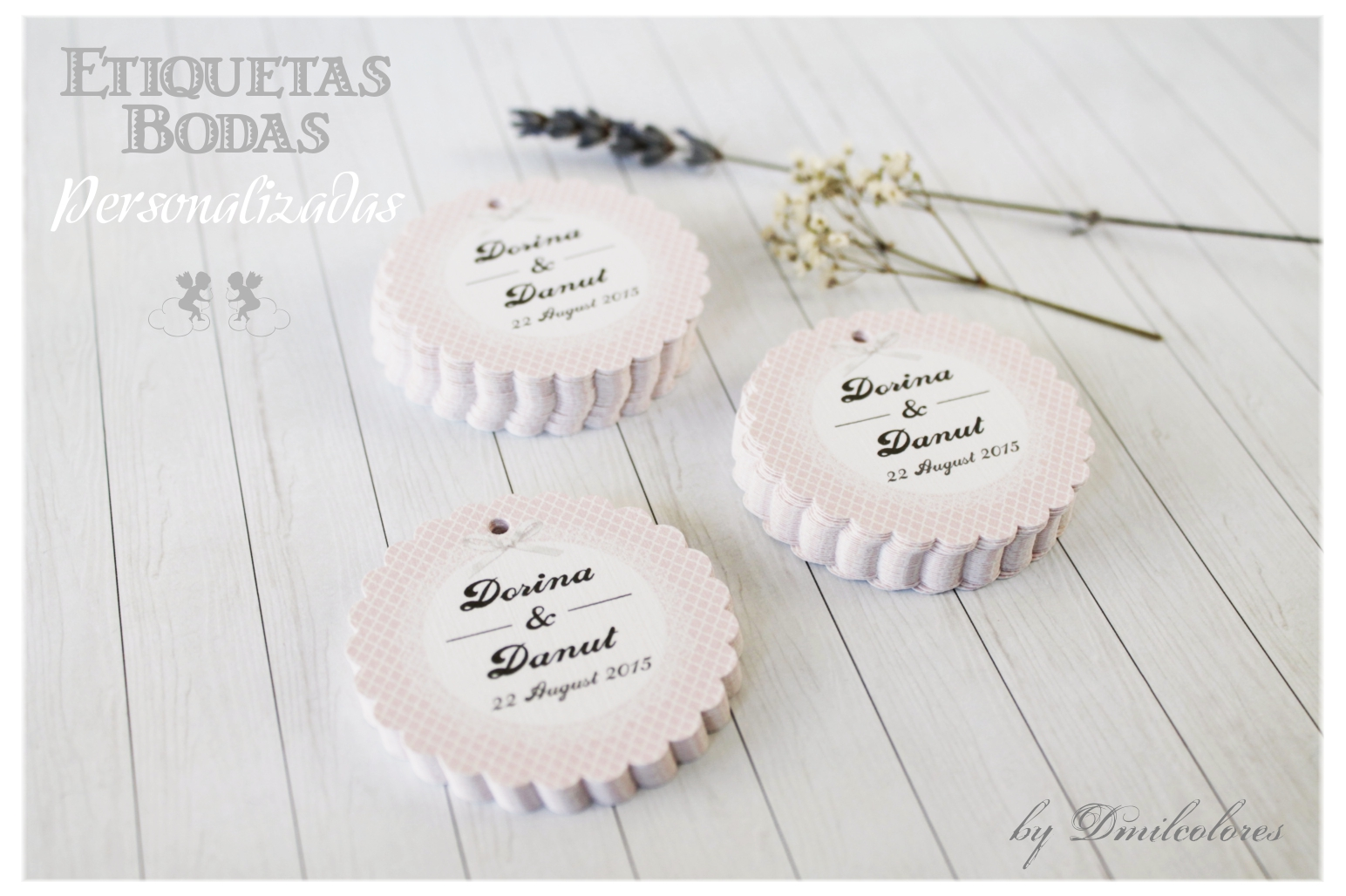 etiquetas bodas detalles