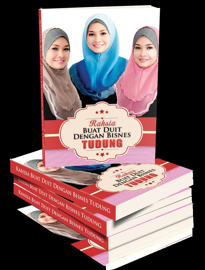 review ebook lubuk bisnes tudung sempena raya