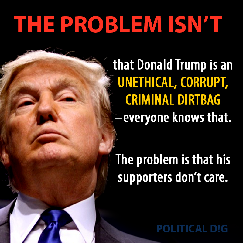The Problem Isn't That Trump is Corrupt