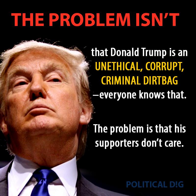 The Problem Isn't That Trump is Corrupt