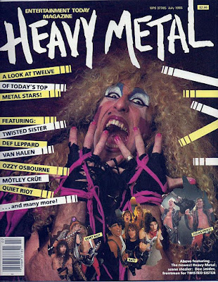 Heavy Metal Magazine July 1985