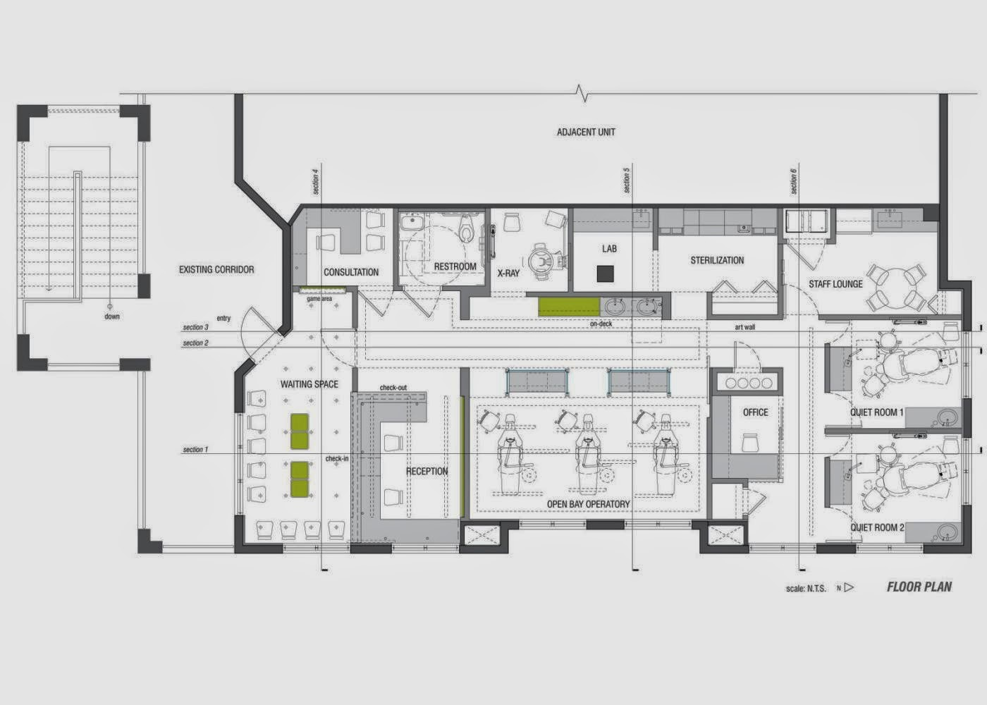 home office floor plan style home furniture design