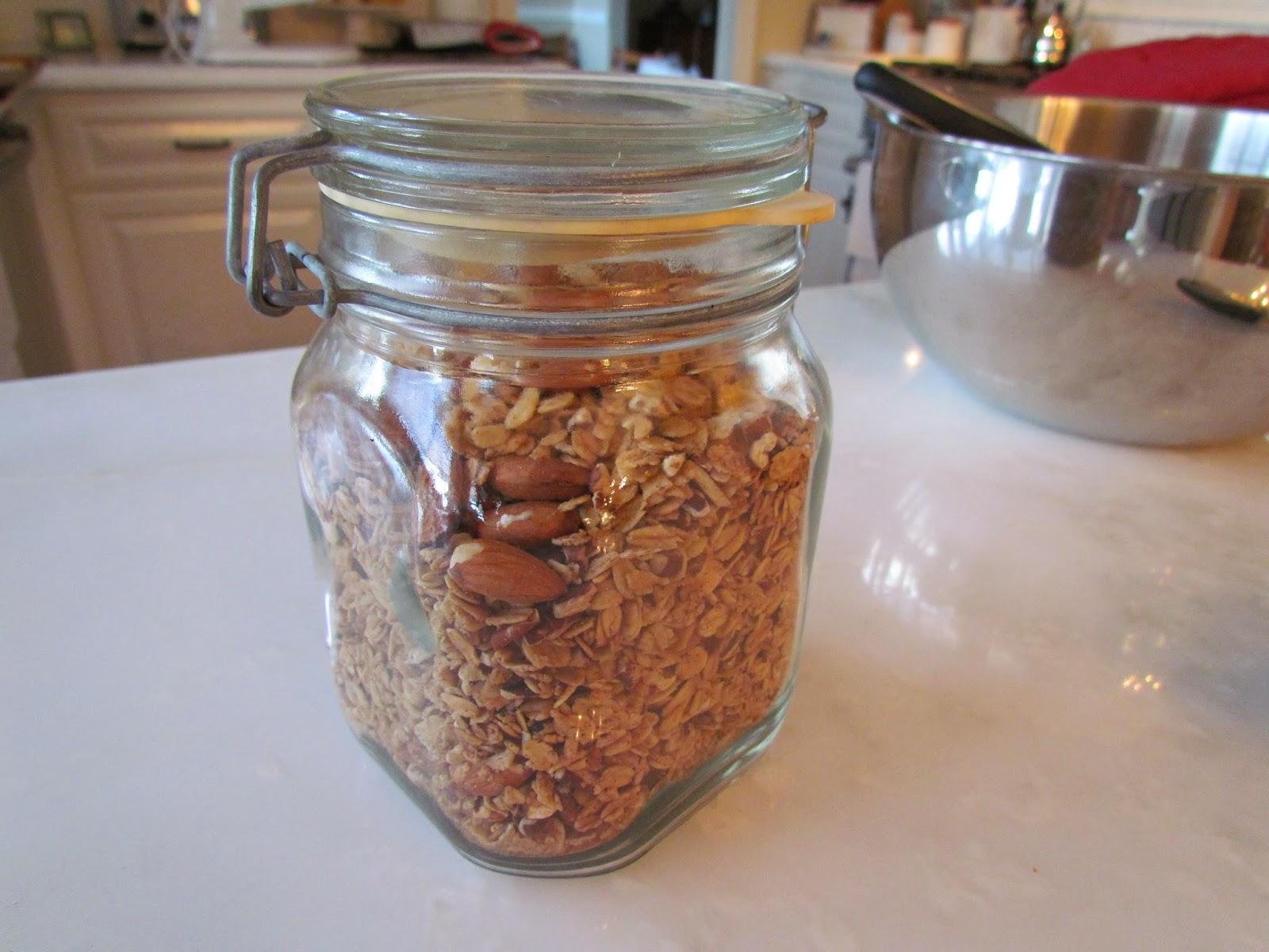Good Morning! Homemade granola