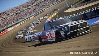 NASCAR Heat 2 PS Vita Background