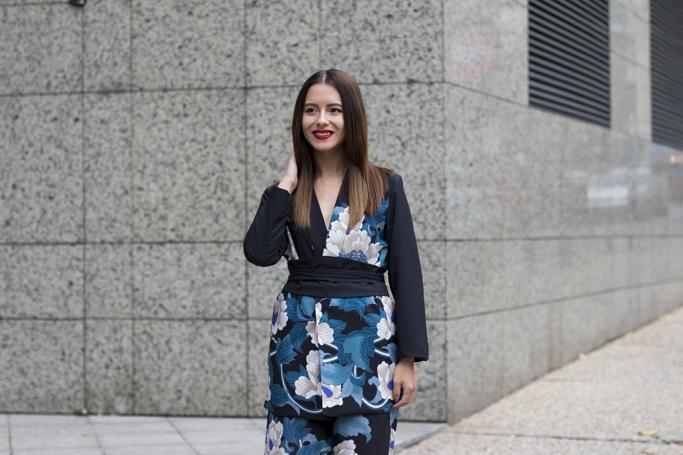 kimono inspired blazer