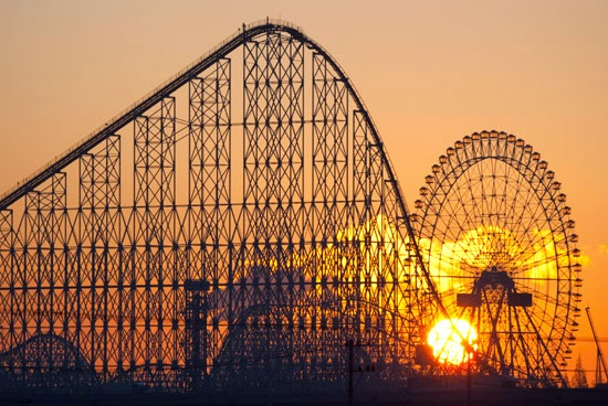 10 Amazing & Scariest Rollercoasters in the World | Steel Dragon 2000, Nagashima Spa Land, Mie Prefecture, Japan