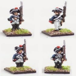 AWG3 Hessian musketeer, standing.